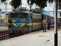AJJ - SBC Pass. (B V Ashok) Tags: trip arakkonambangalore ajjsbc passenger 56261 swr sr jolarpettai jtj junction ldh ludhiana nr wag7 27656 flickrtravelaward