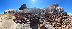 Cerro Castolon Tuff Formations (BongoInc) Tags: bigbendnationalpark chihuahuandesert westtexas cactus desertlandscape nikond7100
