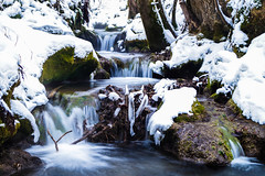 rivers of ice (LiterallyPhotography) Tags: fluss river water badurach schwäbischealb badenwürttemberg deutschland winter schnee eis ice snow waterfall landscape longexposure langzeitbelichtung le natur nature moos moss wald forest trees bäume januar january