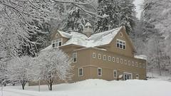 Carriage Barn Visitor Center Jan 2017 (Marsh-Billings-Rockefeller NHP) Tags: woodstock vt marshbillingsrockefeller nhp snowshoeing crosscountry skiiing exercise