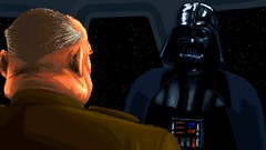 Discussing the Project (BarricadeCaptures) Tags: star wars dark forces talay tak base cutscene executor darth vader general rom mohc game screenshot screencap