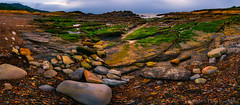 Everything Was Revealed (philipleemiller) Tags: landscape seascape d800 california pacificcoast panoramas tidepools pebbles rocks lowtide