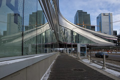 Reflections of 2016 (brentus69) Tags: edmonton alberta canada downtown icedistrict arena rogersplace building architecture 2016 nikon d4 nikond4