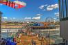 Candy Colored Santa Monica Pier (Michael F. Nyiri) Tags: santamonica santamonicapier pier beach ocean clouds california southerncalifornia