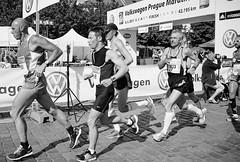 Prague  (Film 2011) (jerica colon) Tags: red blackandwhite prague 2011 film photography outdoor explore runners