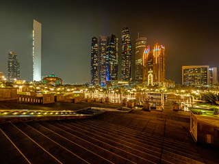 Abu Dhabi Nights - Etihad Towers