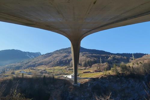 Pfäfers - Taminabrücke Bofel