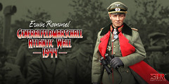 3R GM636 Erwin Rommel - Atlantic Wall 1944 - 00 Hero3 (Lord Dragon 龍王爺) Tags: 16scale 12inscale onesixthscale actionfigure doll hot toys 3r did german ww2 axis