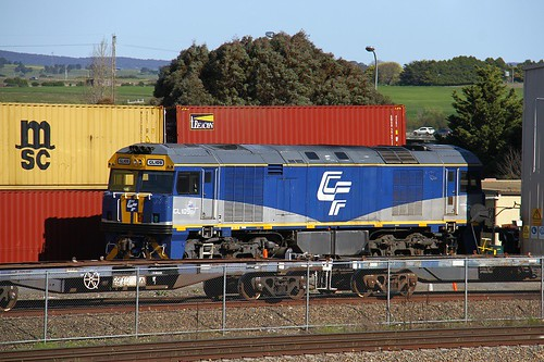 9768. GL109 stabled at Goulburn 2-10-16