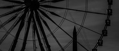(C-47) Tags: bestofparis fun shadows silhouette silhouettes blackwhite bw beautiful noir noirblanc noiretblanc wow wondeful obelisk obélisque paris