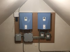 Two-inverter installation in Martha's Vineyard, MA
