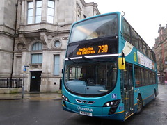 Arriva North West 4466 MX61 AXG on 79D (sambuses) Tags: arrivanorthwest 4466 mx61axg