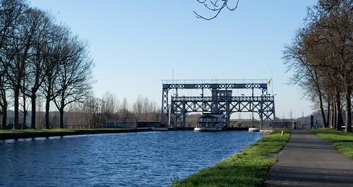 Belgium Canal du Centre historic lift #4 (#0226)