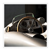Mercedes / Silberpfeil III (Splitti68) Tags: europa europe deutschland germany badenwürtenberg stuttgard mercedes mercedesmuseum auto automobil rennwagen racer lenkrad silber quadrat square rahmen rennsport rennsportlegende splitti splitti68 splittstöser splittstoesser