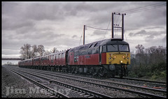47767 (saltley1212) Tags: res class47 477 47767 saint columba ash church mail train