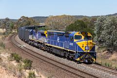 2017-01-21 QUBE C502-CM3305 Towrang 1263 (deanoj305) Tags: 1263 qube logistics containerised grain train c502 cm3305 main south line nsw cfcla towrang newsouthwales australia au