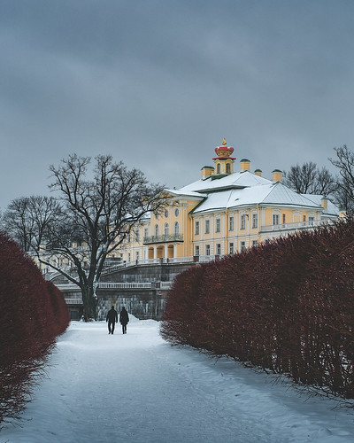 Great Menshikov Palace. Oranienbaum. 1711-1727 / Большой Меншиковский дворец. Ораниенбаум. 1711-1727
