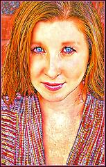 (Cliff Michaels) Tags: nikon photoshop pse9 face girl beauty portrait prisma
