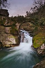 Puente Medieval Rio Almofrei (f@gra) Tags: almofrei rioalmofrei rio river puente bridge agua water waterfall fervenza cascada sony sigma pontevedra galicia spain