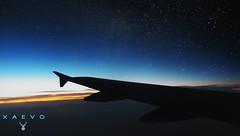 ***  T O U C H   *  T H E  *  S T A R S  *** (XAEVO DELUXE) Tags: xaevo xaevodeluxe plane star stars night sky jasoncrux crux sunrise clouds cloud heaven trip tour summer