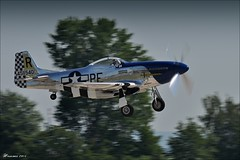 Mustang (Hansmannn) Tags: airshow mustang excalibur p51 2015 pardubice
