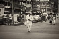 """""""On a pilgrimage"""" (arman.beeswamill) Tags: india blackwhite pune palki tukaram dnyaneshwar waari dothemagic sendtofb"""