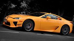 Lexus LFA in Hong Kong (Ben Molloy Automotive Photography) Tags: hk orange car photography ben automotive hong kong vehicle molloy lfa lexus