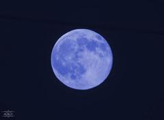 Blue Moon 31-07-2015 (Lola Cortés Neva) Tags: blue moon azul lola luna cádiz neva rota cortés lolacortésneva 31072015