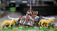 Hounds (seaottre68) Tags: horse order citadel great hound grand games age workshop mounted orion sword alliance questing paladin bretonnia sigmar barded