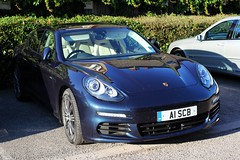 One of my neighbours has expensive tastes ! (AndrewHA's) Tags: car porsche hertfordshire bishopsstortford panamera tiptronic a1scb