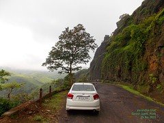 DSCN9414 (Prof.Suresh G. Isave) Tags: road one day near dam spot off tourists monsoon beat western around roads pune treks ghats ghat konkan destinations raigad aroun mahad bhor bhatghar shivtharghal maharashtratourism picnicspotaroundpune varadhaghat trekkingnearpune mohangad destnination kavlyagad