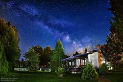 milkyway (Boris Mrdja) Tags: longexposure vacation sky house lightpainting night stars star serbia cottage deep astro galaxy nebula astronomy vinci noc milkyway srbija golubac kuca nocna vikendica galaksija mlecniput