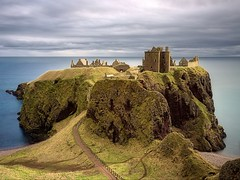 Dunnottar Castle (ShinyPhotoScotland) Tags: longexposure light sky panorama sunlight blur colour building castle art abandoned nature clouds landscape scotland sandstone aberdeenshire emotion decay space gimp places rules calm motionblur filter zen vista balance colourful geology awe striking distance toned contrasts tranquil imposing cliche lump softlight headland lightanddark stonehaven elegance shapely sidelit conglomerate hugin painteffects oldredsandstone rockstone nearfar digikam dunnottarcastle skyearth shapeandform nd1000 enfuse naturehappens luminancehdr sony1855 darktable photivo digitalbloom motionstationary mankindnature digitalgradnd digitallowpass digitalc2g digitalgmic timefulness nearmidfardistance