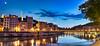 Lyon - Quai Saint-Vincent Panoramique ** Explored ** (Guillaume Bessonat) Tags: france night lyon pentax hdr panoramique photomatix