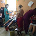 Los Pipitos, Masaya - Cleaning and extractions at the clinic