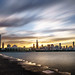 Chicago skyline at sunset - United States - Travel photography