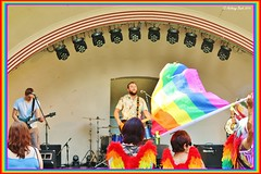 A Way With Words (Anthony Bush) Tags: gay musician music rock lesbian swindon band pride transgender lgbt bisexual gaypride wiltshire oldtown towngardens sigma70300mm awaywithwords canon70d