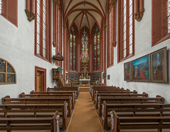 Deutschhauskirche, Würzburg, Nave (<DXR>) Tags: church bayern deutschland hdr würzburg