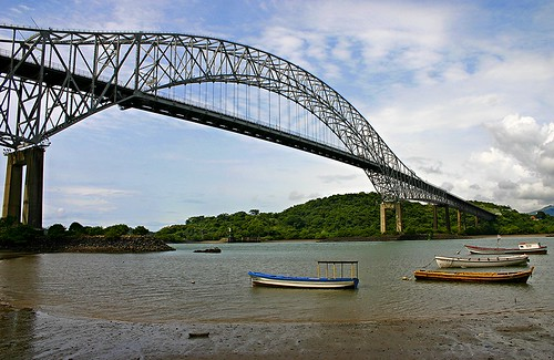 Bridge of the Americas OR Puente de las Américas OR Thatcher Ferry Bridge - Panama 17