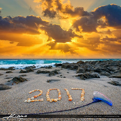 Newr Year 2017 Beach Sunrise Singer Island Florida (Captain Kimo) Tags: 2017 aurorahdr2017 beach captainkimo easyhdr florida hdrphotography lovefl newyear oceanreefpark singerisland southflorida sunrise
