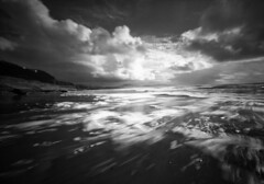 Storm tossed, storm tussled (Zeb Andrews) Tags: innova6x9 pinhole film lensless mediumformat capekiwanda oregon oregoncoast bw pacificnorthwest stormy