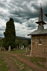 _RC7886_St. John the Baptist_Ouse (CASSIDY PHOTOGRAPHY) Tags: australia tasmania ouse graves graveyard church steeple crucifix