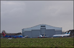Atlantic Aviation Group Hangar - Shannon (elevationair ✈) Tags: shannon airport shannonairport snn einn airliners airlines avgeek aviation airplane plane aircraft maintenance atlanticaviationagroup aag overhaul apron boeing 737 738 boeing73785pw suncountry suncountryairlines lowcostcarrier aireuropa ecjap