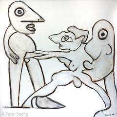 Ca manque une signature (Peter Seelig) Tags: 2016 peterseelig art paintings kunst gemälde