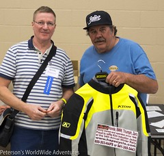 Hap's Cycle Klim Jacket Winner- Bill Peterson