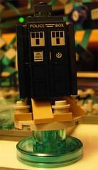 Lego Dimensions Doctor Who Tardis (Doc Nero) Tags: lego dimensions dc movie sonic hedgehog midway ninjago doctor who arcade spy hunter joker batman tardis dalek