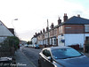 January 13th, 2017 Erm... where's the snow we were promised? (karenblakeman) Tags: starroad caversham uk january 2017 2017pad terracedhouses cars
