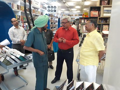Book MumBhai Returns released by then CBI Director Joginder Singh in Delhi April 2016_201620160429_171342