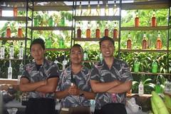 Bali Bar Tender, Potato Head Beach Club, Bali (Manoo Mistry) Tags: nikond5500body nikon tamron18270mmzoom beachclub beach club bali indonesia seminyak outdoor tourism tourist swimming baliboys potatoheadbeachclub
