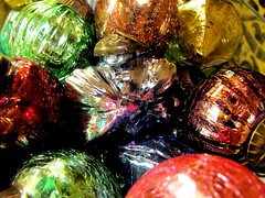 . (TejaO) Tags: christmas ornament colorful brightlycolored glass